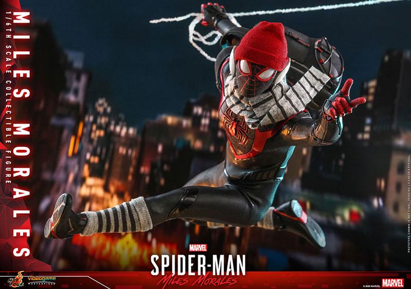 ビデオゲーム・マスターピース『マイルス・モラレス/スパイダーマン』Marvel's Spider-Man 1/6 可動フィギュア-023