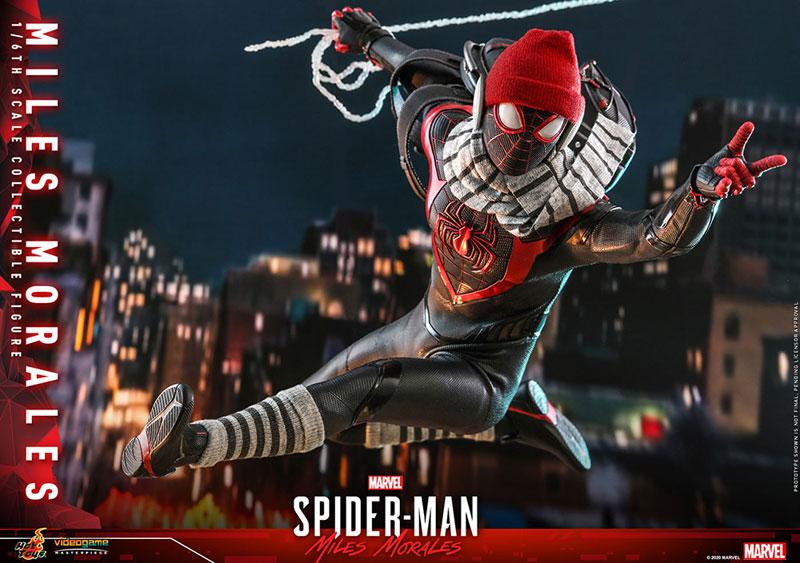 ビデオゲーム・マスターピース『マイルス・モラレス/スパイダーマン』Marvel's Spider-Man 1/6 可動フィギュア-024