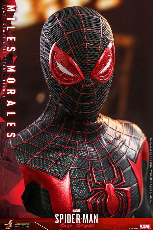 ビデオゲーム・マスターピース『マイルス・モラレス/スパイダーマン』Marvel's Spider-Man 1/6 可動フィギュア-025