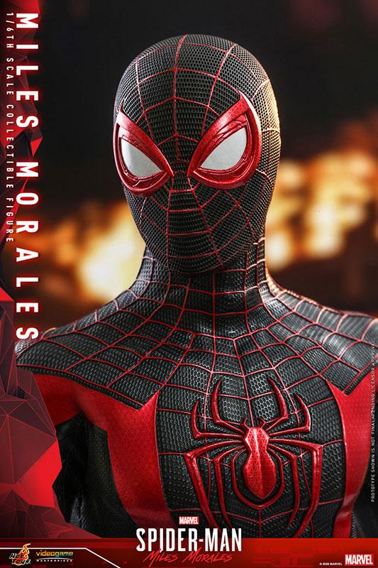 ビデオゲーム・マスターピース『マイルス・モラレス/スパイダーマン』Marvel's Spider-Man 1/6 可動フィギュア-026