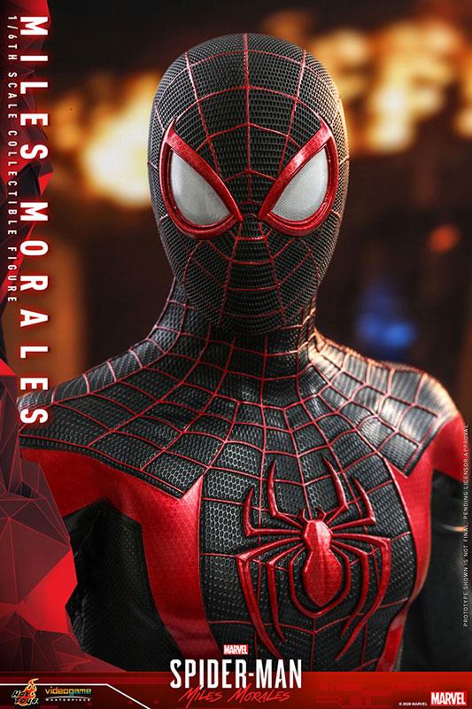 ビデオゲーム・マスターピース『マイルス・モラレス/スパイダーマン』Marvel's Spider-Man 1/6 可動フィギュア-027