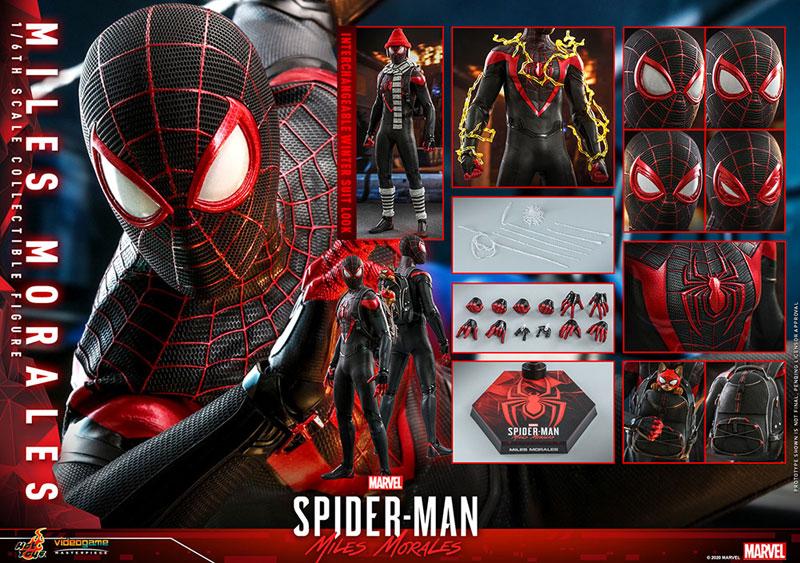 ビデオゲーム・マスターピース『マイルス・モラレス/スパイダーマン』Marvel's Spider-Man 1/6 可動フィギュア-028