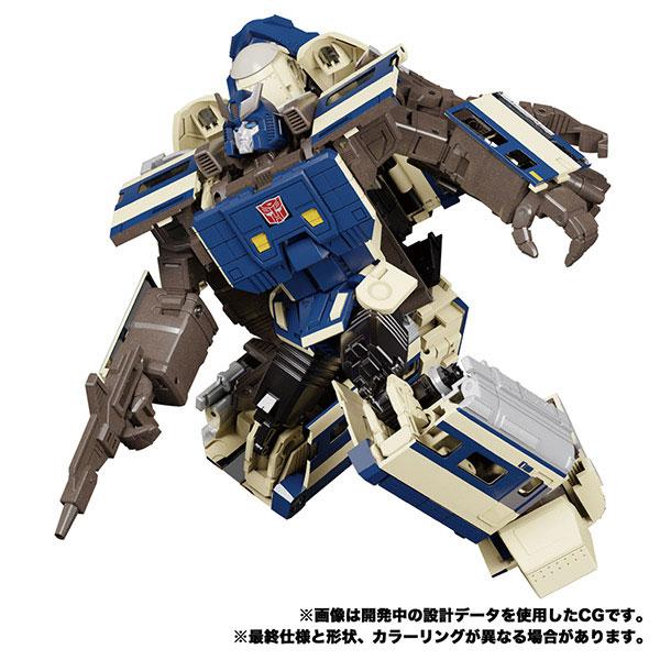 トランスフォーマー マスターピースG『MPG-01 トレインボット ショウキ』可変可動フィギュア