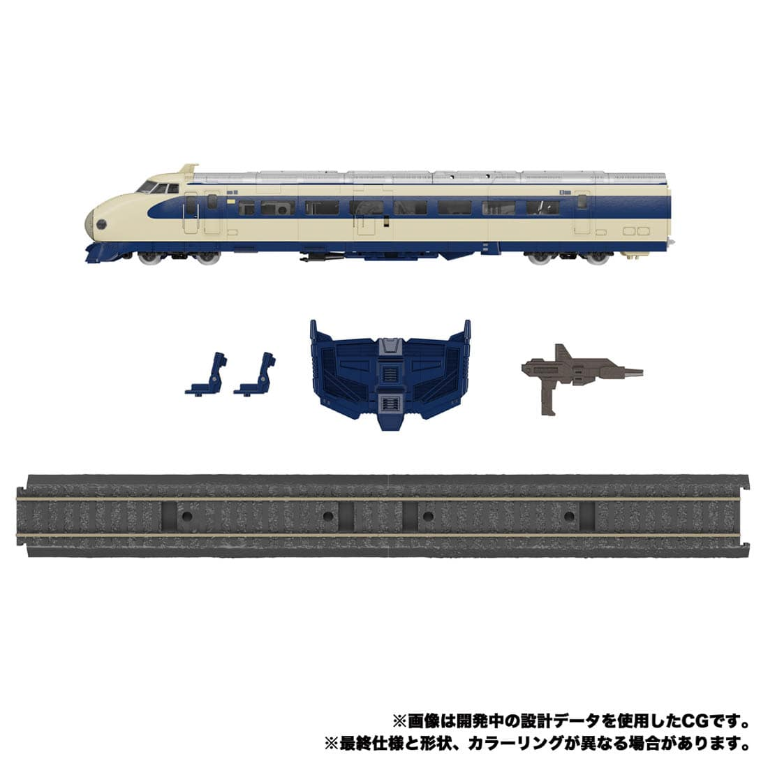 トランスフォーマー マスターピースG『MPG-01 トレインボット ショウキ』可変可動フィギュア-004