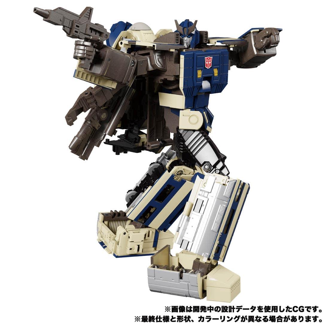 トランスフォーマー マスターピースG『MPG-01 トレインボット ショウキ』可変可動フィギュア-005