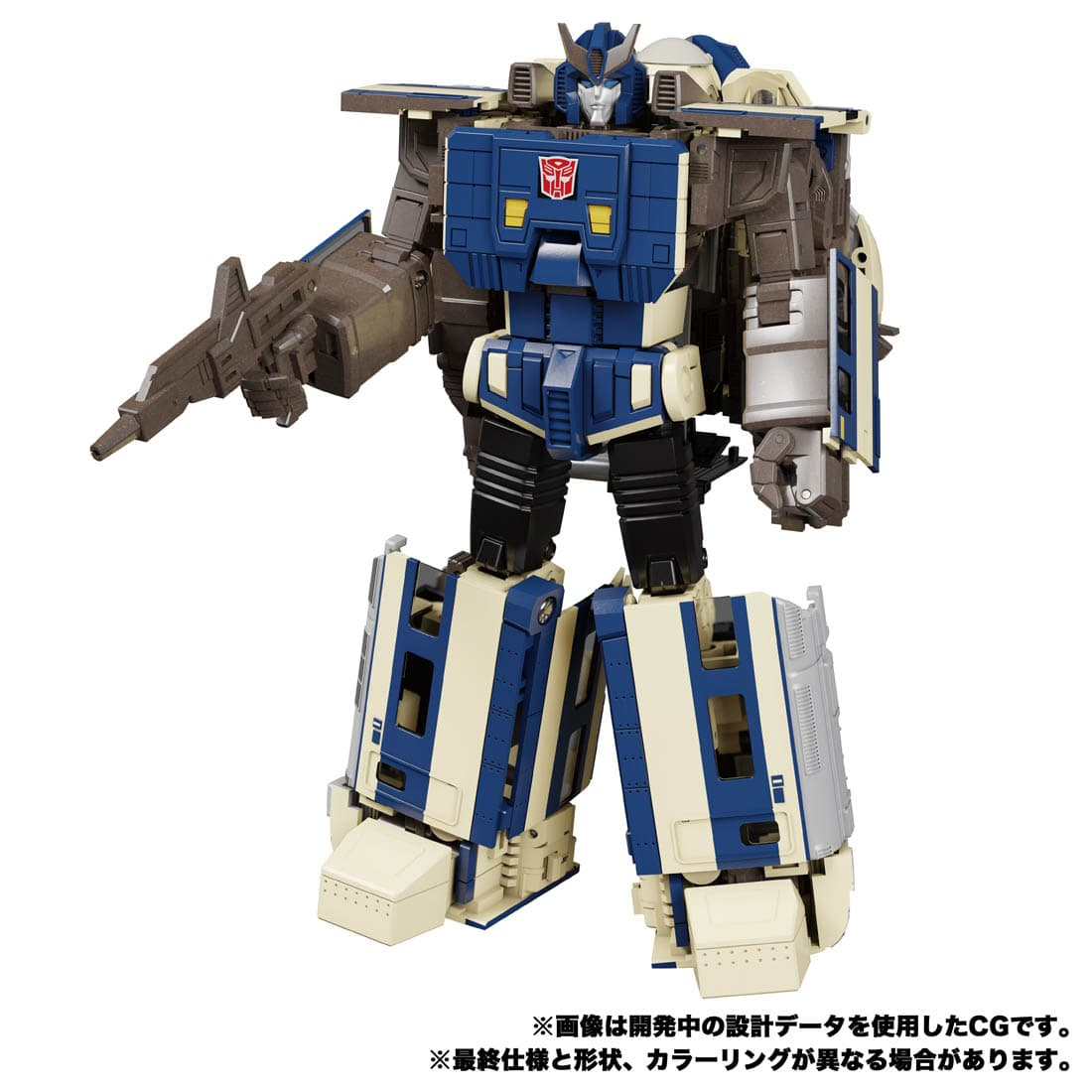トランスフォーマー マスターピースG『MPG-01 トレインボット ショウキ』可変可動フィギュア-006