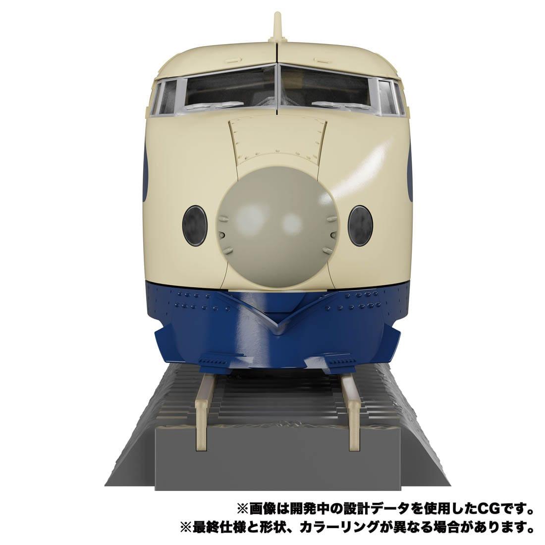 トランスフォーマー マスターピースG『MPG-01 トレインボット ショウキ』可変可動フィギュア-007