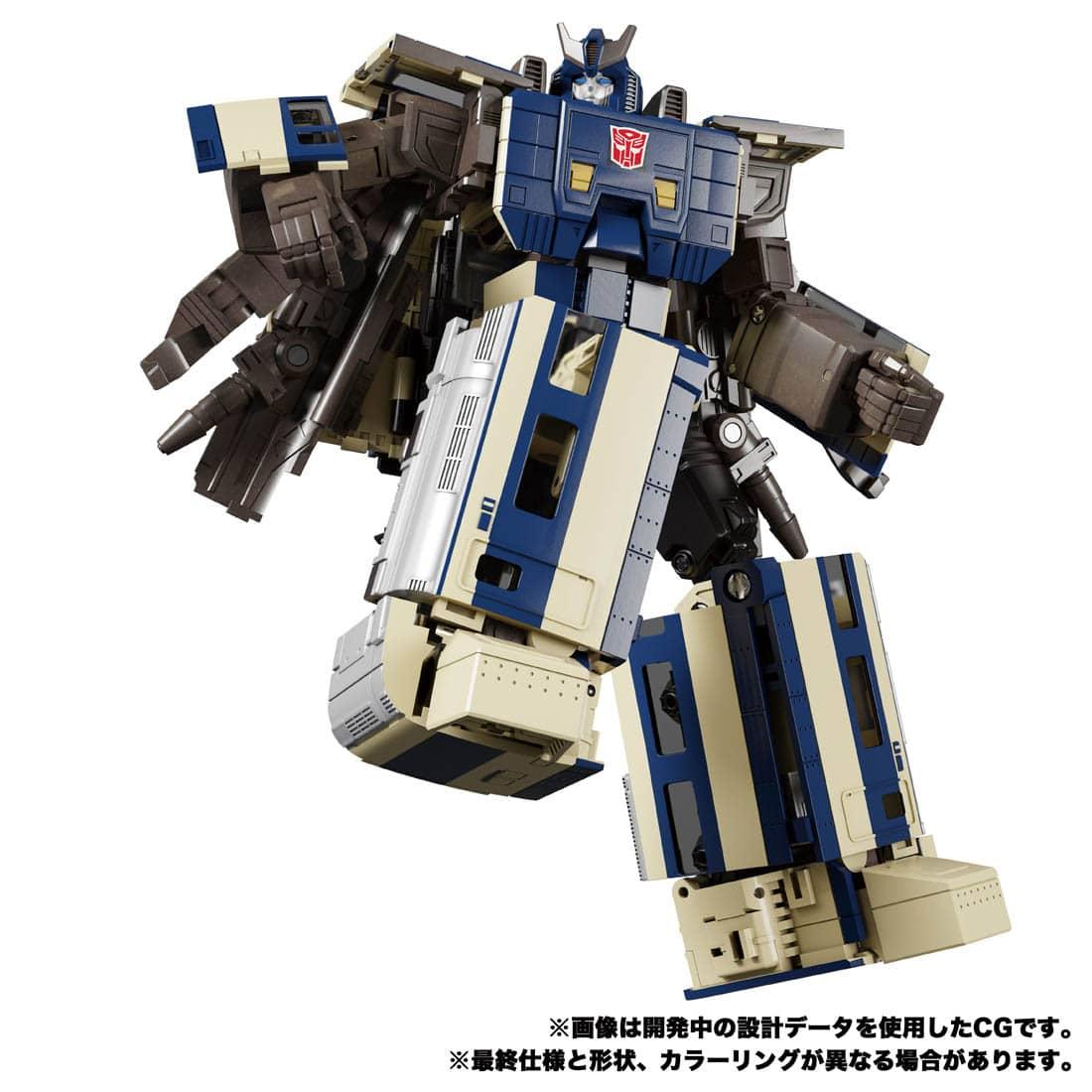トランスフォーマー マスターピースG『MPG-01 トレインボット ショウキ』可変可動フィギュア-009