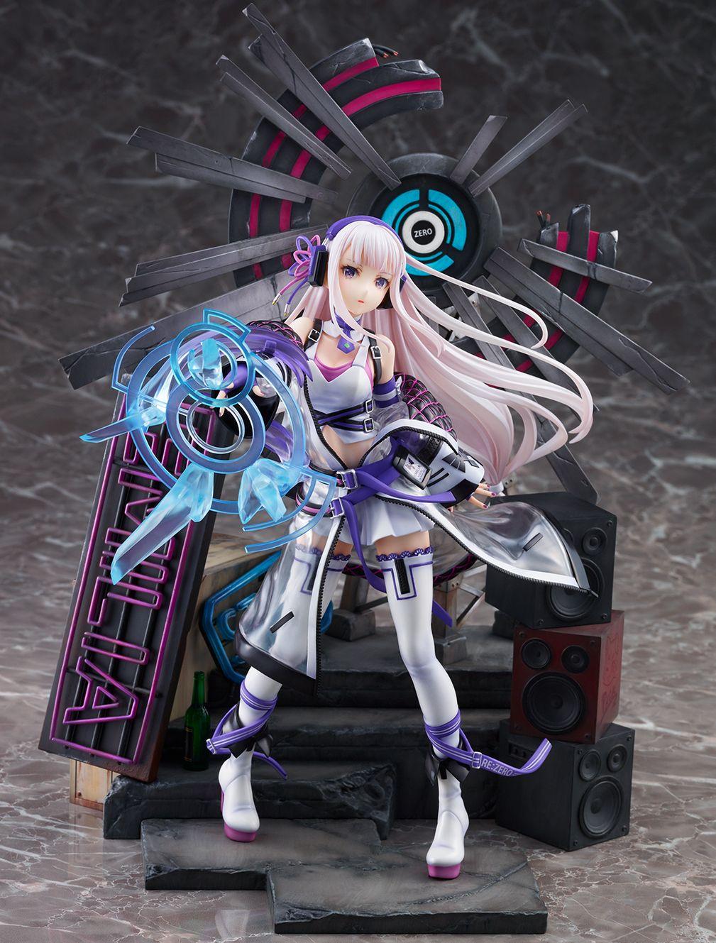 【限定販売】Re:ゼロから始める異世界生活『エミリア -Neon City Ver.-』1/7 完成品フィギュア-002