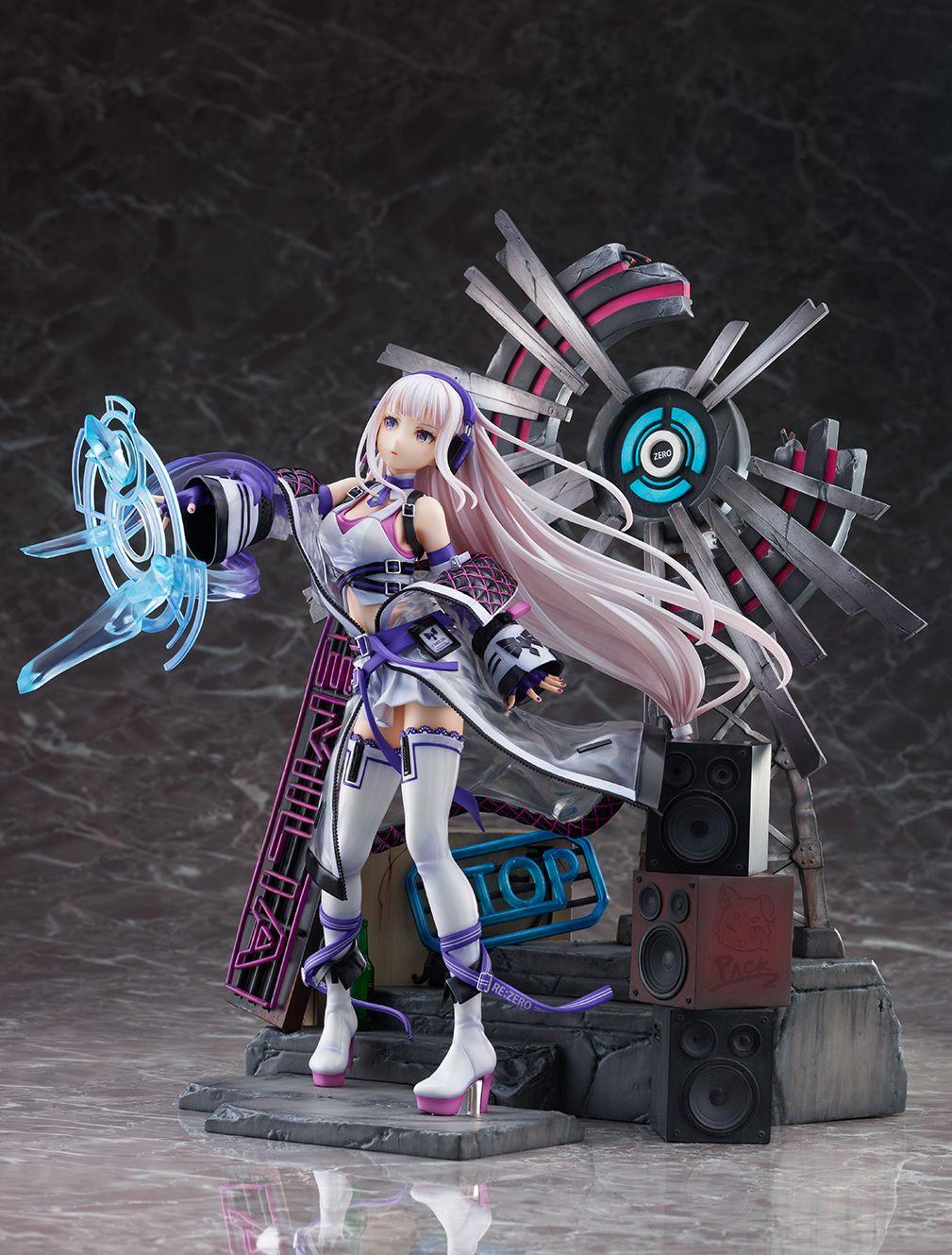 【限定販売】Re:ゼロから始める異世界生活『エミリア -Neon City Ver.-』1/7 完成品フィギュア-005