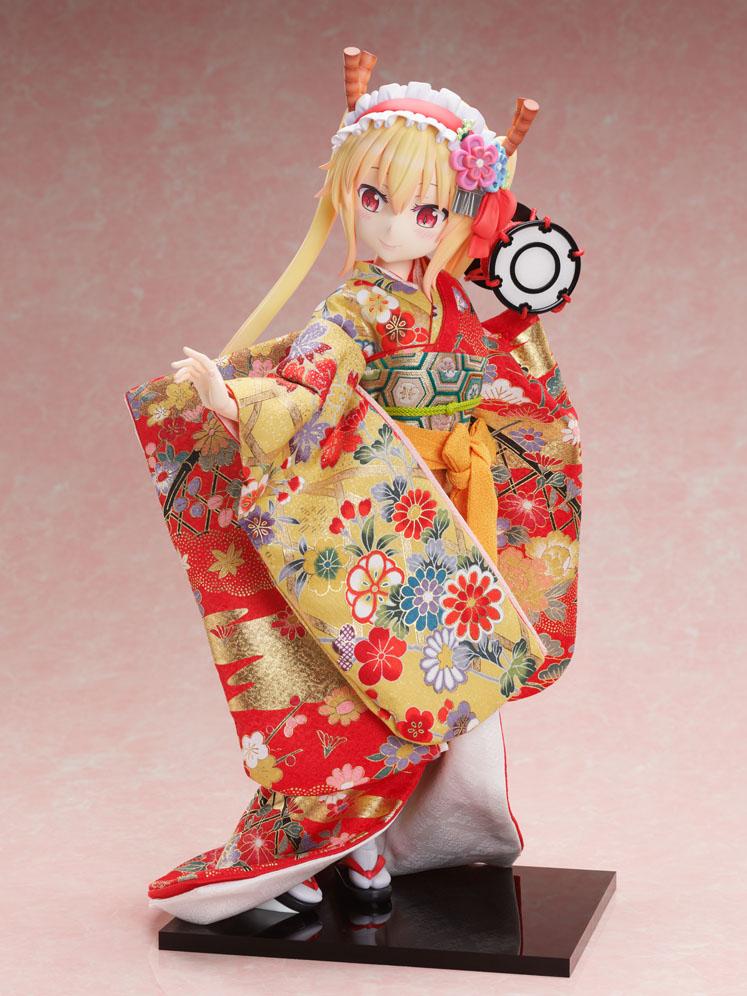 吉徳×F:NEX『トール  -日本人形-』小林さんちのメイドラゴン 1/4 完成品フィギュア-001
