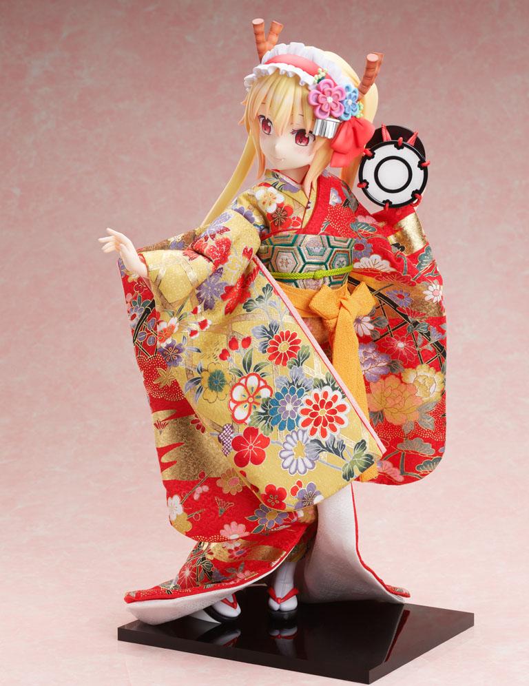 吉徳×F:NEX『トール  -日本人形-』小林さんちのメイドラゴン 1/4 完成品フィギュア-002