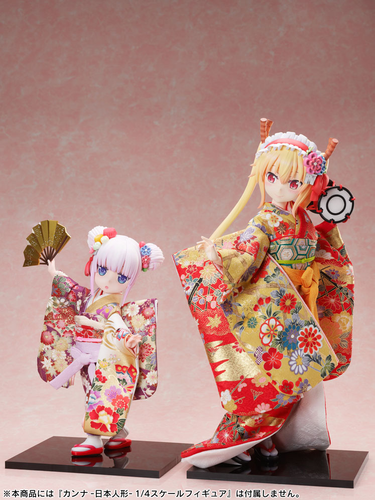 吉徳×F:NEX『トール  -日本人形-』小林さんちのメイドラゴン 1/4 完成品フィギュア-012