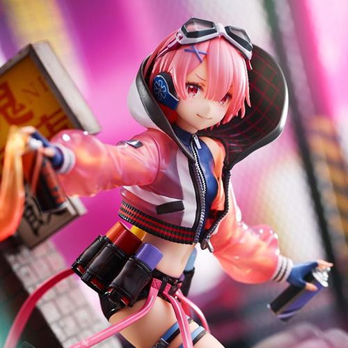 【限定販売】Re:ゼロから始める異世界生活『ラム -Neon City Ver.-』1/7 完成品フィギュア