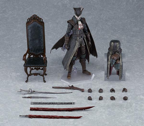 figma『時計塔のマリア DXエディション』Bloodborne The Old Hunters Edition 可動フィギュア