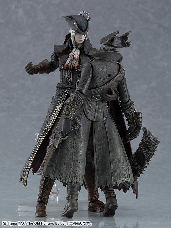 figma『時計塔のマリア DXエディション』Bloodborne The Old Hunters Edition 可動フィギュア-012