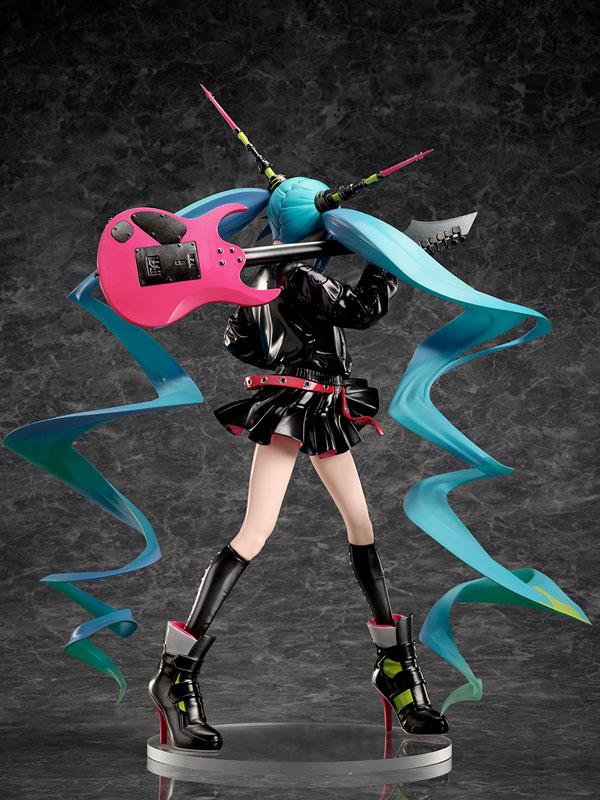 【限定販売】キャラクター・ボーカル・シリーズ01『初音ミク LAMロックシンガー Ver.』1/7 完成品フィギュア-004