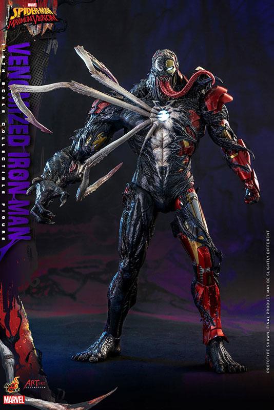 アーティスト・コレクション『アイアンマン(ヴェノム版)』スパイダーマン:マキシマム・ヴェノム 1/6 可動フィギュア-001