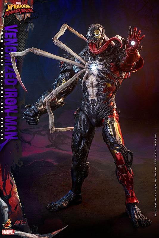 アーティスト・コレクション『アイアンマン(ヴェノム版)』スパイダーマン:マキシマム・ヴェノム 1/6 可動フィギュア-002