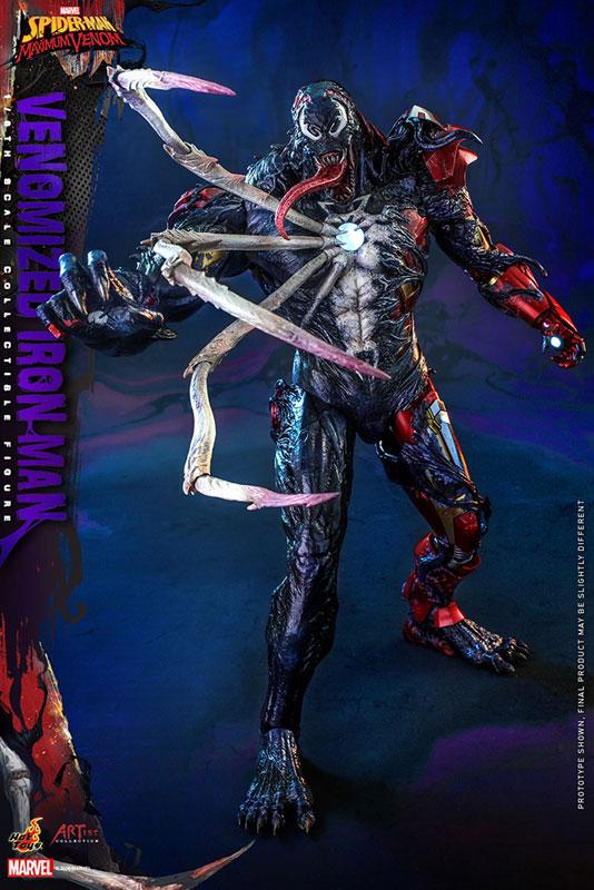 アーティスト・コレクション『アイアンマン(ヴェノム版)』スパイダーマン:マキシマム・ヴェノム 1/6 可動フィギュア-003