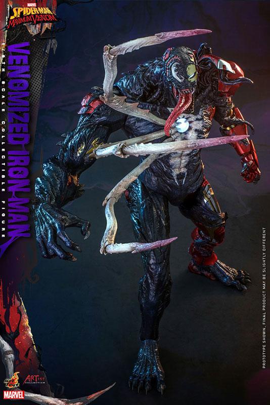 アーティスト・コレクション『アイアンマン(ヴェノム版)』スパイダーマン:マキシマム・ヴェノム 1/6 可動フィギュア-004