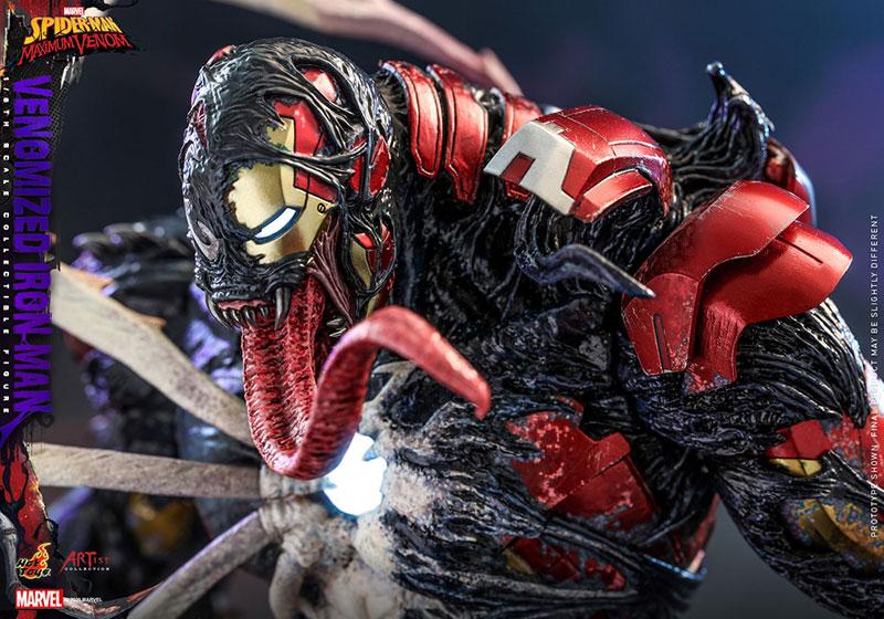 アーティスト・コレクション『アイアンマン(ヴェノム版)』スパイダーマン:マキシマム・ヴェノム 1/6 可動フィギュア-014