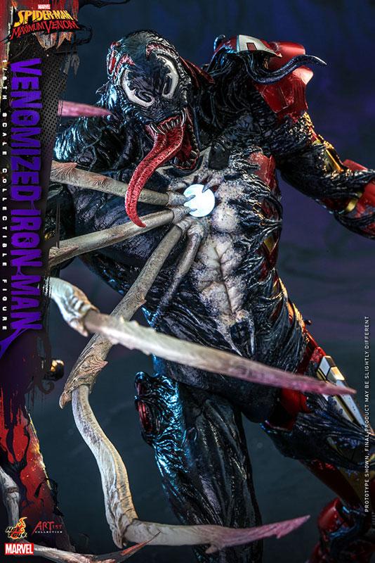 アーティスト・コレクション『アイアンマン(ヴェノム版)』スパイダーマン:マキシマム・ヴェノム 1/6 可動フィギュア-015