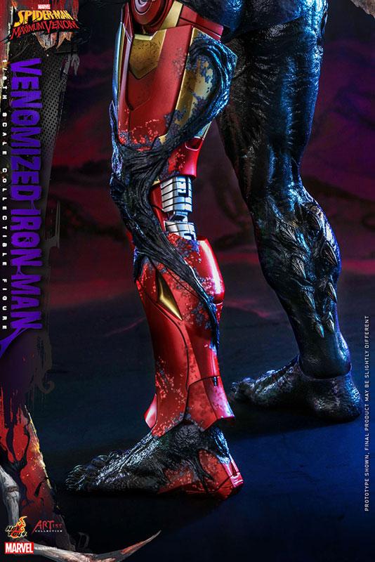 アーティスト・コレクション『アイアンマン(ヴェノム版)』スパイダーマン:マキシマム・ヴェノム 1/6 可動フィギュア-016
