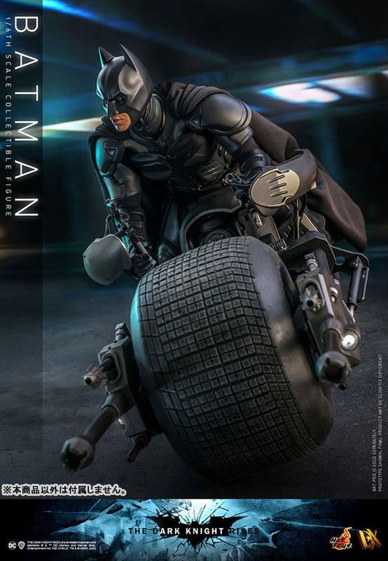 ムービー・マスターピース DX『バットマン(2.0版)』ダークナイト ライジング 1/6 可動フィギュア-003