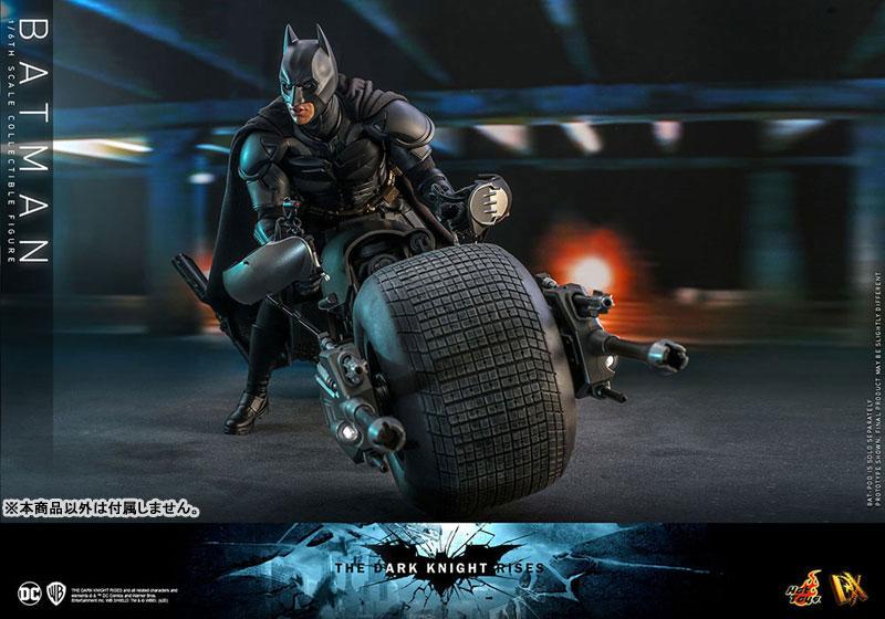 ムービー・マスターピース DX『バットマン(2.0版)』ダークナイト ライジング 1/6 可動フィギュア-012