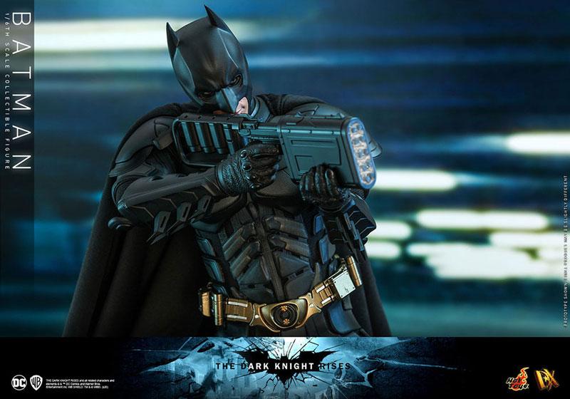ムービー・マスターピース DX『バットマン(2.0版)』ダークナイト ライジング 1/6 可動フィギュア-014