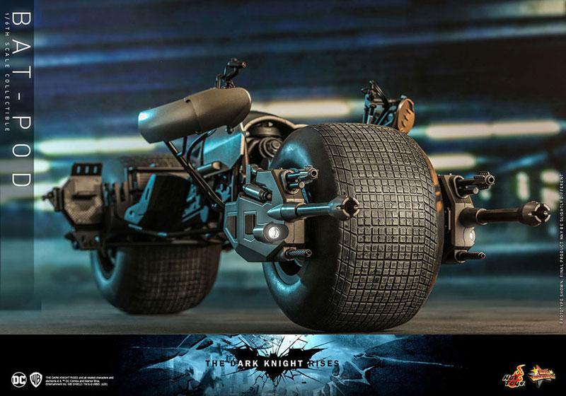 ムービー・マスターピース DX『バットマン(2.0版)』ダークナイト ライジング 1/6 可動フィギュア-031