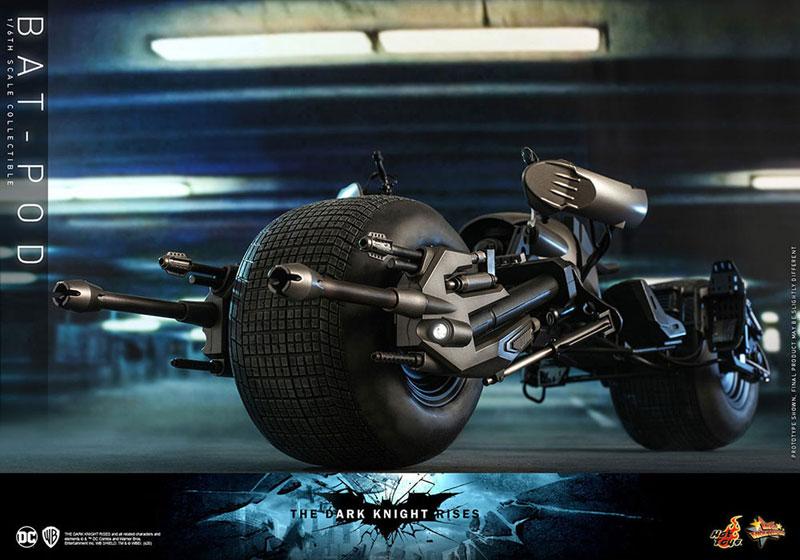 ムービー・マスターピース DX『バットマン(2.0版)』ダークナイト ライジング 1/6 可動フィギュア-033