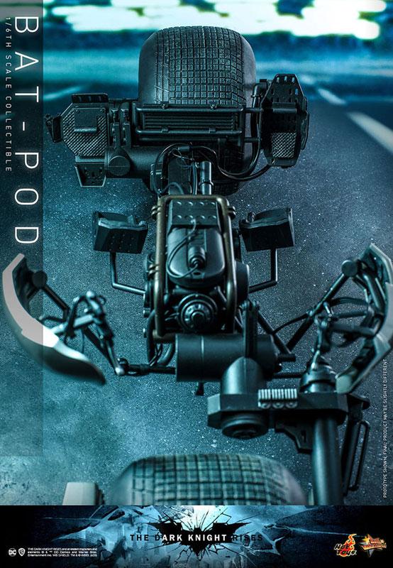 ムービー・マスターピース DX『バットマン(2.0版)』ダークナイト ライジング 1/6 可動フィギュア-036
