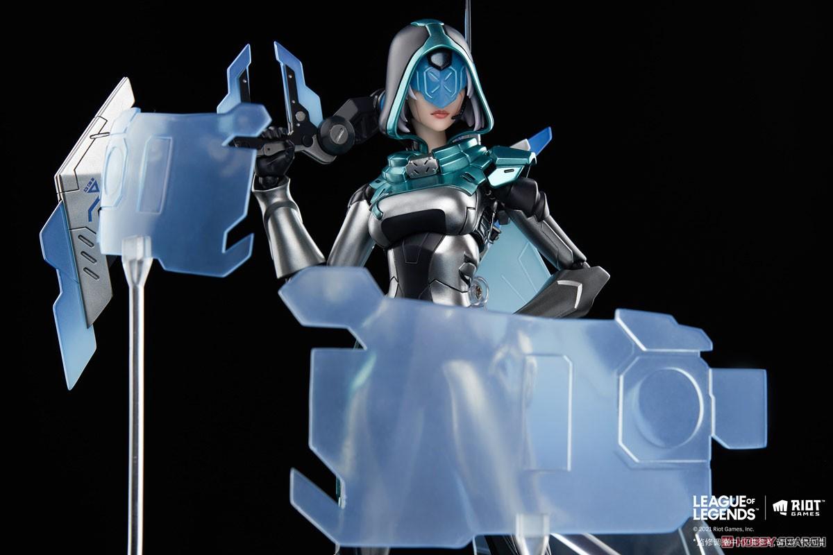 リーグ・オブ・レジェンド『プロジェクトアッシュ』1/8 可動フィギュア-008