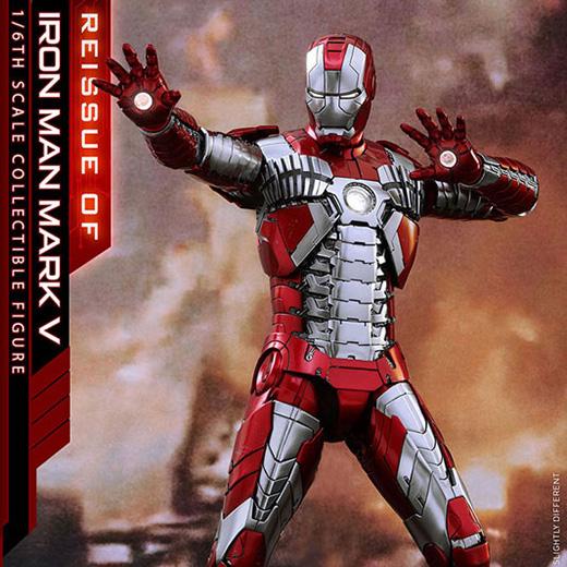 【再販】ムービー・マスターピース DIECAST『アイアンマン・マーク5』アイアンマン2 1/6 可動フィギュア