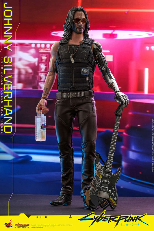 ビデオゲーム・マスターピース『ジョニー・シルヴァーハンド』サイバーパンク2077 1/6 可動フィギュア-001