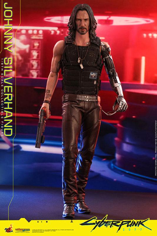 ビデオゲーム・マスターピース『ジョニー・シルヴァーハンド』サイバーパンク2077 1/6 可動フィギュア-002