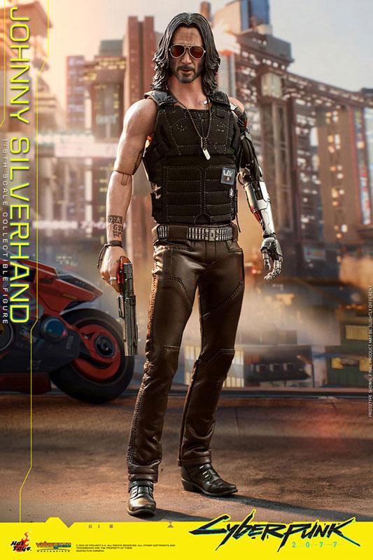 ビデオゲーム・マスターピース『ジョニー・シルヴァーハンド』サイバーパンク2077 1/6 可動フィギュア-005