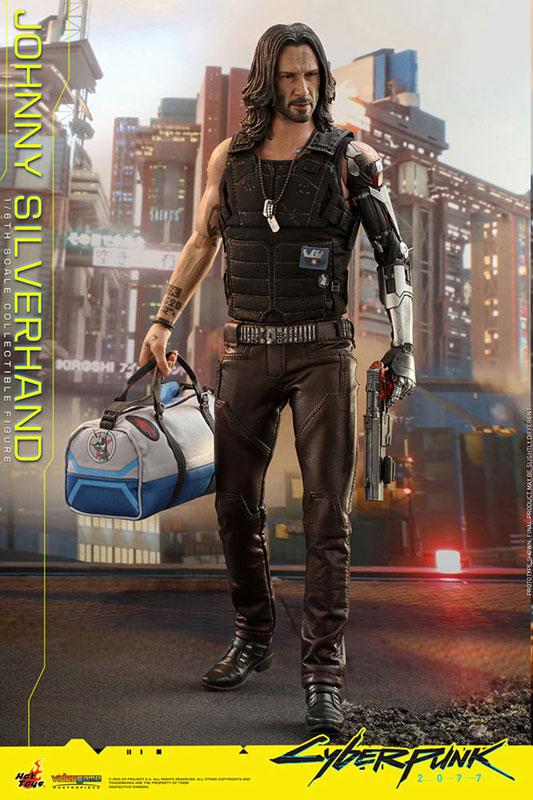ビデオゲーム・マスターピース『ジョニー・シルヴァーハンド』サイバーパンク2077 1/6 可動フィギュア-006
