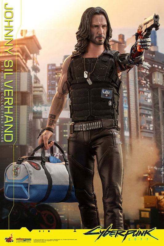 ビデオゲーム・マスターピース『ジョニー・シルヴァーハンド』サイバーパンク2077 1/6 可動フィギュア-007