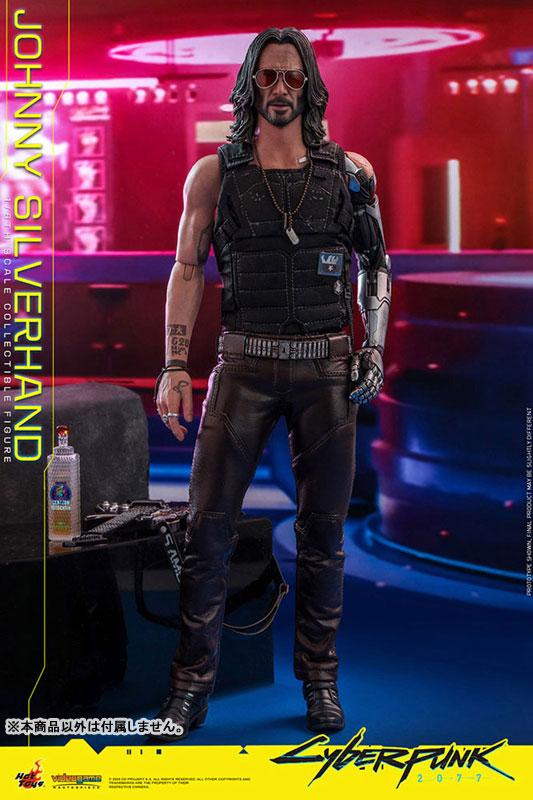 ビデオゲーム・マスターピース『ジョニー・シルヴァーハンド』サイバーパンク2077 1/6 可動フィギュア-009