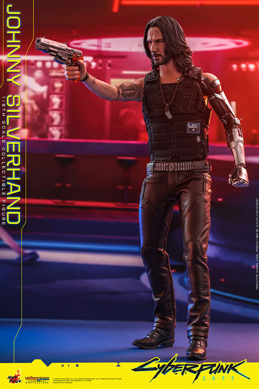 ビデオゲーム・マスターピース『ジョニー・シルヴァーハンド』サイバーパンク2077 1/6 可動フィギュア-012
