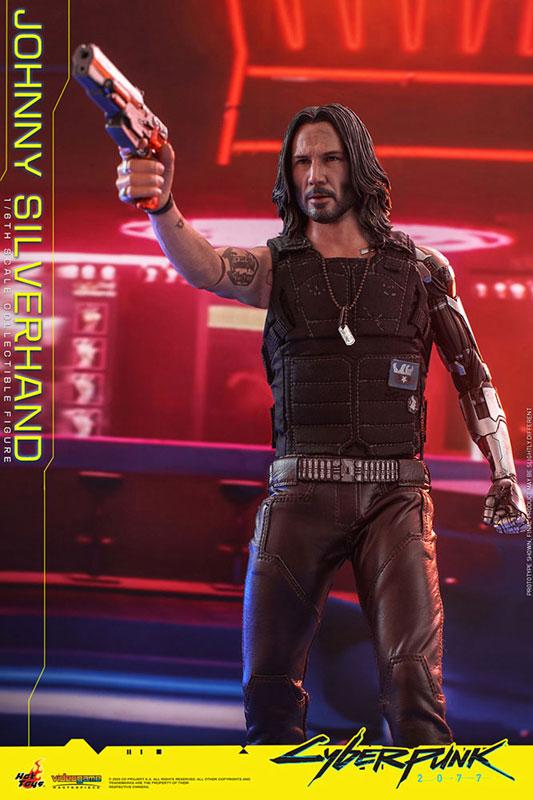 ビデオゲーム・マスターピース『ジョニー・シルヴァーハンド』サイバーパンク2077 1/6 可動フィギュア-013
