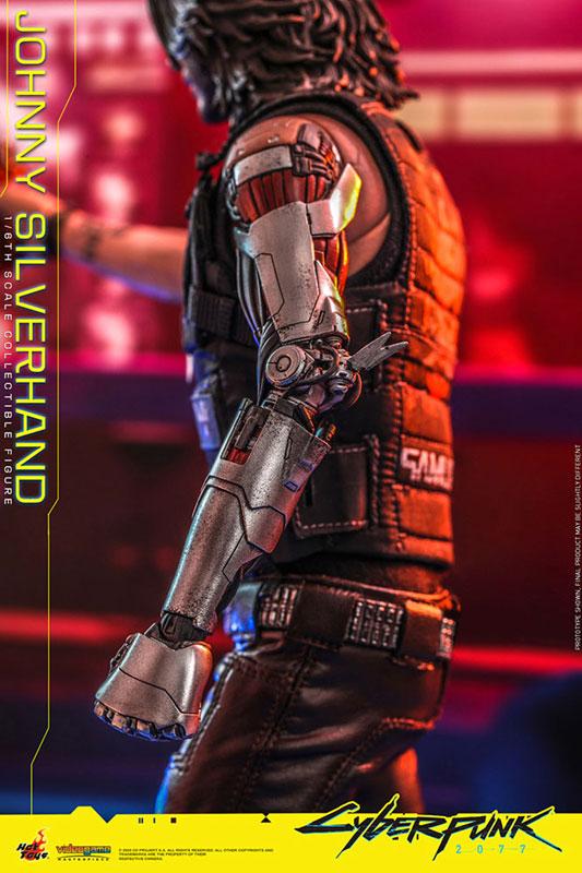 ビデオゲーム・マスターピース『ジョニー・シルヴァーハンド』サイバーパンク2077 1/6 可動フィギュア-014