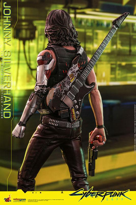 ビデオゲーム・マスターピース『ジョニー・シルヴァーハンド』サイバーパンク2077 1/6 可動フィギュア-017