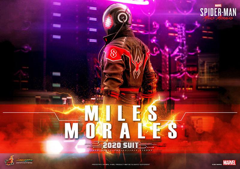 ビデオゲーム・マスターピース『マイルス・モラレス/スパイダーマン(マイルス・モラレス2020スーツ版)』Marvel's Spider-Man: Miles Morales 1/6 可動フィギュア-001