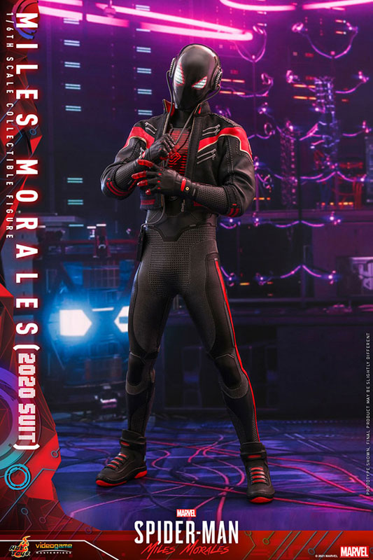 ビデオゲーム・マスターピース『マイルス・モラレス/スパイダーマン(マイルス・モラレス2020スーツ版)』Marvel's Spider-Man: Miles Morales 1/6 可動フィギュア-002