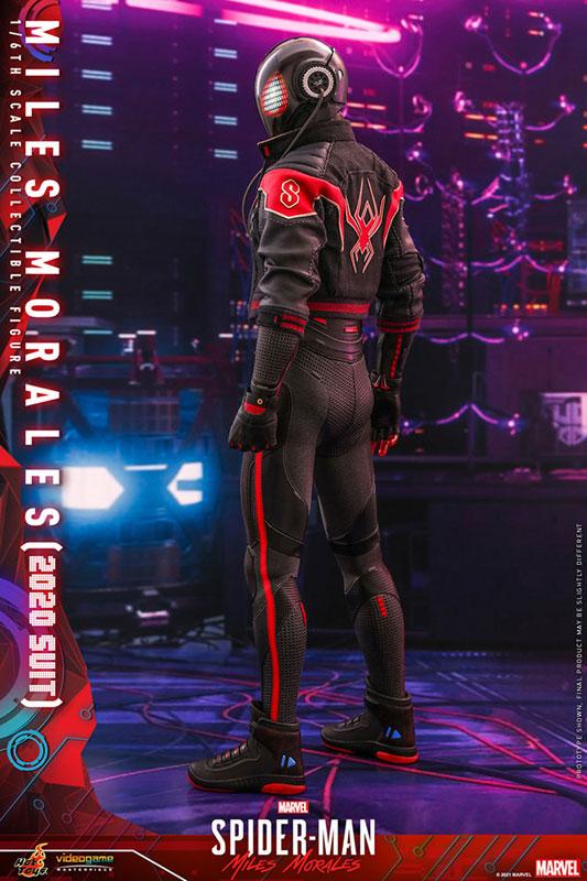 ビデオゲーム・マスターピース『マイルス・モラレス/スパイダーマン(マイルス・モラレス2020スーツ版)』Marvel's Spider-Man: Miles Morales 1/6 可動フィギュア-003