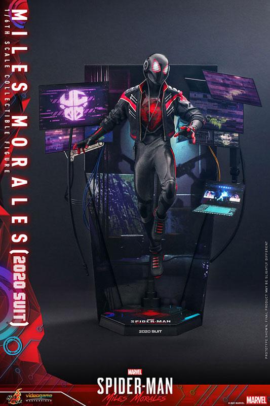 ビデオゲーム・マスターピース『マイルス・モラレス/スパイダーマン(マイルス・モラレス2020スーツ版)』Marvel's Spider-Man: Miles Morales 1/6 可動フィギュア-004